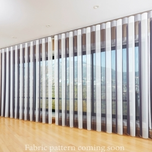 Fabric pattern blinds