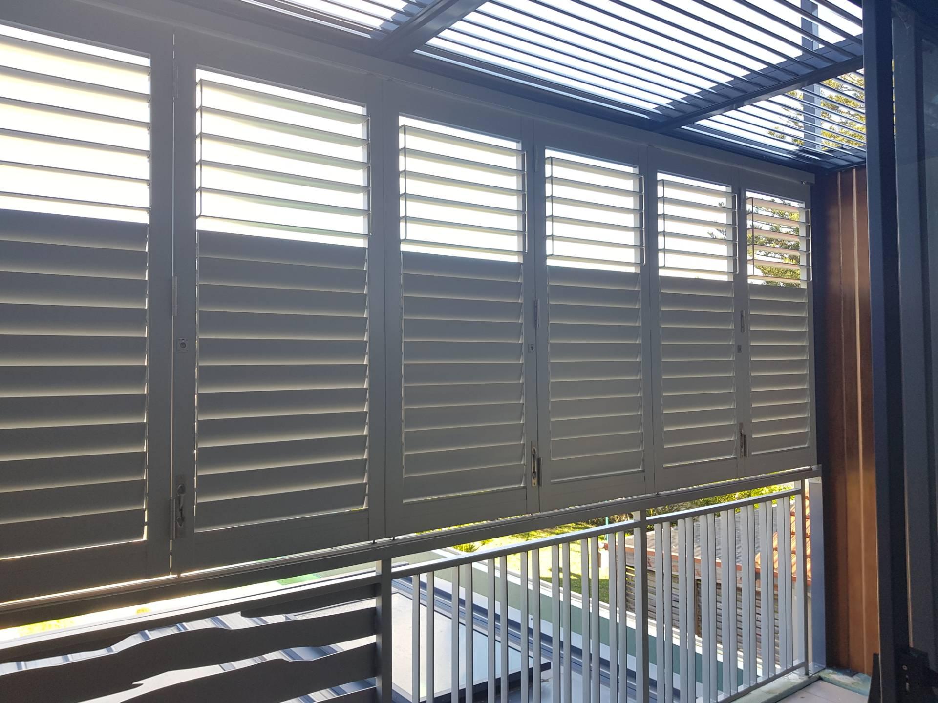 PVC window shutters